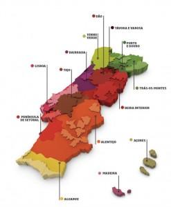 Portugal wine regions