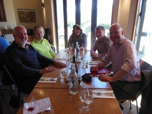 Mt Difficulty lunch Tour 3