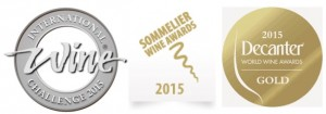 Wine Award logos
