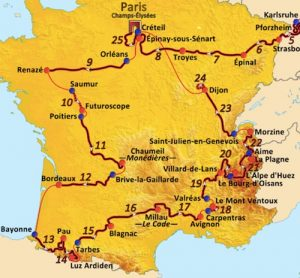 A Tour de France Wine Tasting dinner @ Le Salon Privé | Twickenham | United Kingdom