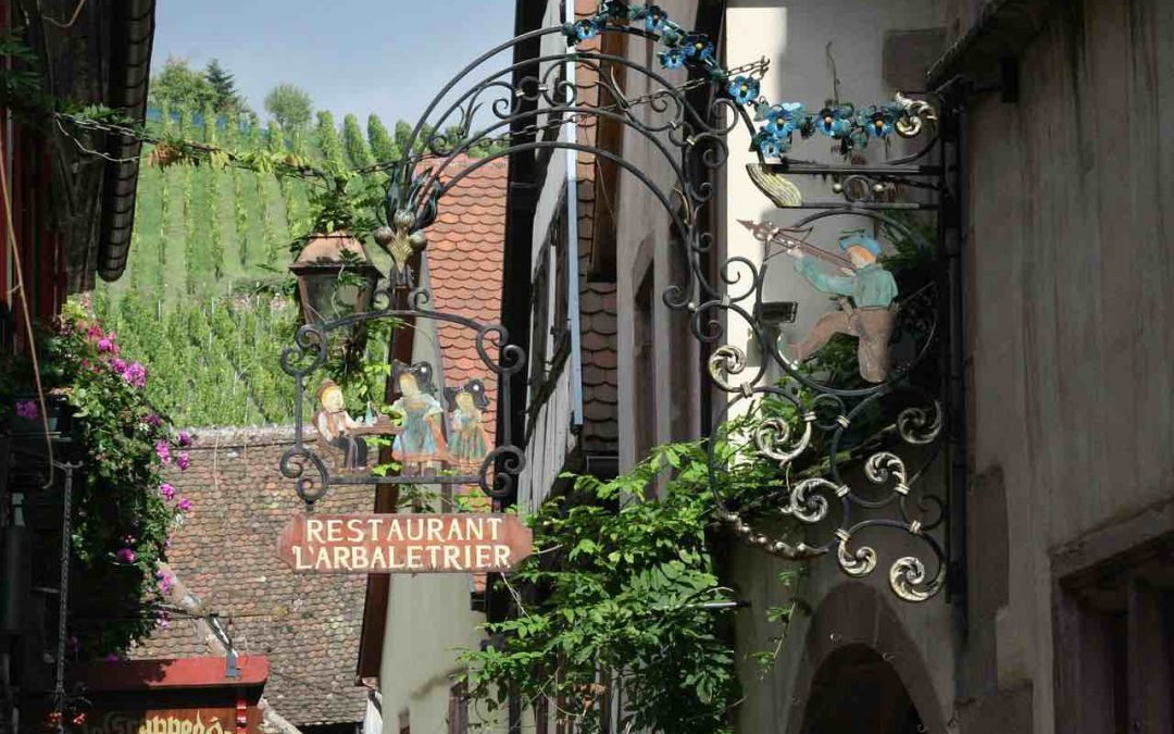 A night of Alsatian wine and gastronomy